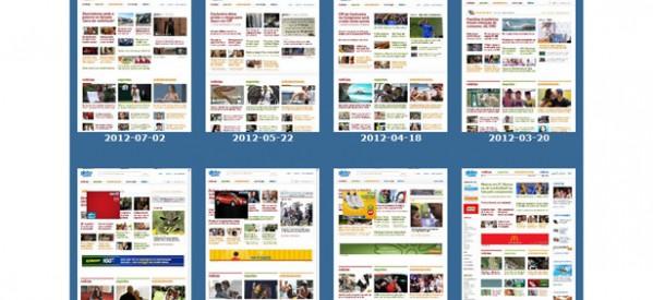 DomainTools: repositório de prints de sites
