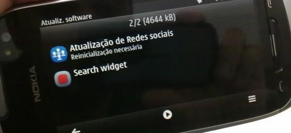 Nova atualização para o Nokia 701: Atualização de Redes Sociais + Search Widget