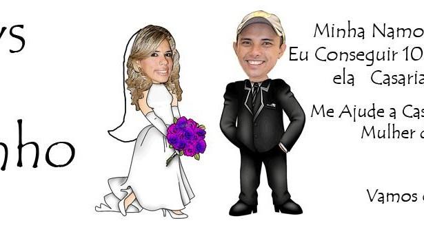 Pedido de casamento em um Sábado de Aleluia. Agora dá certo!